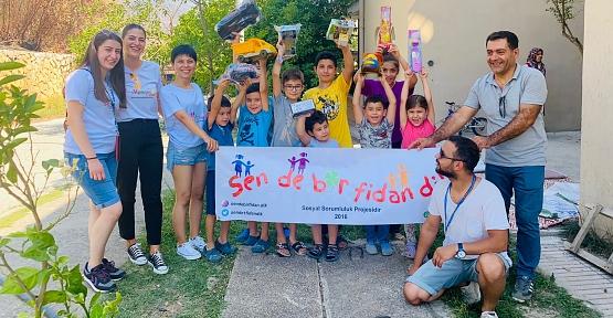 Sende Bir Fidan Dik Manavgat'taki Çocukları Unutmadı