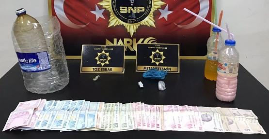 Hurdacı Dükkanına Yapılan Uyuşturucu Operasyonunda; 3 Gözaltı