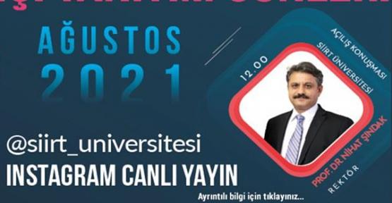 """Siirt Üniversitesinde """"Tercih ve Tanıtım Günleri"""" Başladı"""