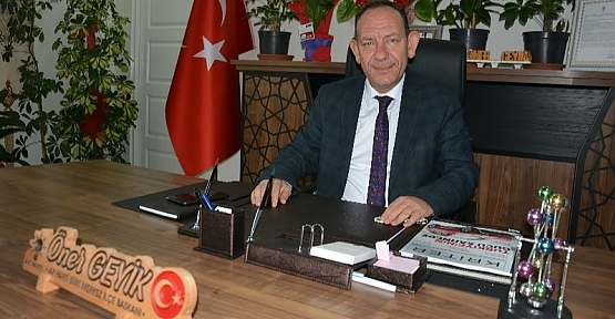 AK Parti Merkez İlçe Başkanı Öner Geyik'in 30 Ağustos Mesajı