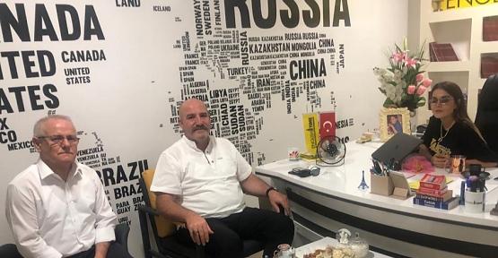 İl Emniyet Müdürü Halit Aziz Yılmaz English Time'yi Ziyaret Etti