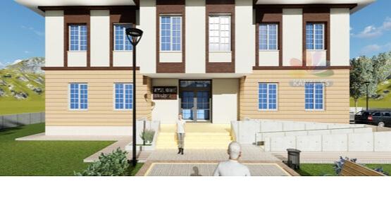 İller Bankası Veyselkarani ve Beğendik Beldelerine Modern Belediye Binası Yapacak