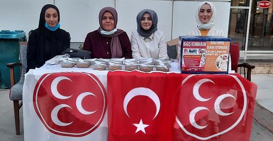 MHP Siirt Kadın Kolları Aşure Dağıttı