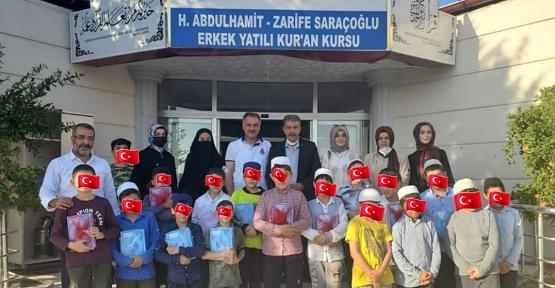 MHP Siirt İl Teşkilatı Kuran Bülbüllerini Unutmadı