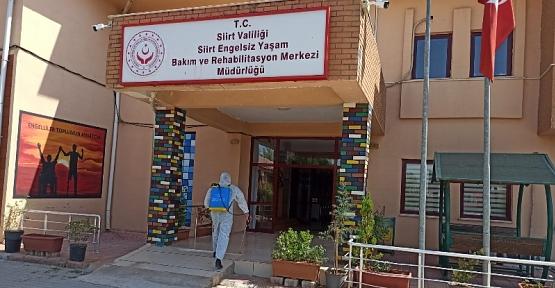 Siirt Belediyesi Dezenfekte ve Sterilizasyon Çalışmalarını Arttırdı
