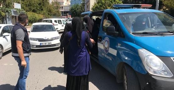 Siirt'te Belediye ve Emniyetten Ortak Dilenci Operasyonu