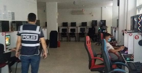 Siirt'te İnternet Kafe ve Atari Salonları Denetlendi
