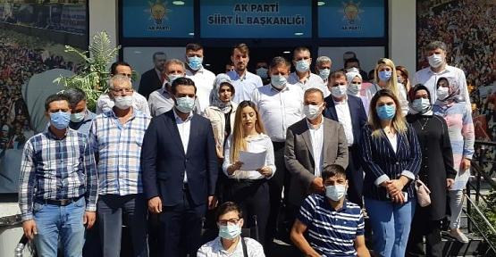 AK Parti Siirt İl Teşkilatı 17 Eylül Demokrasi Şehitlerini Andı