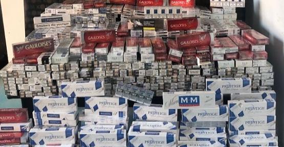 Piyasa Değeri 90 Bin TL Gümrük Kaçağı Sigara Yakalandı