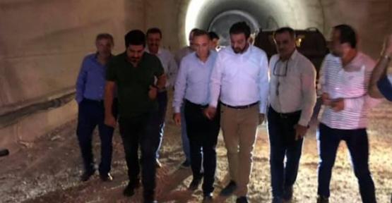 Ören ve Olgaç, Eruh-Fındık Yolu ve Tünel Projesini İnceledi