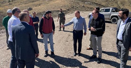 Siirt, Şırnak ve Van'ı 12 Tünelle Birbirine Bağlayacak Bölgemizin En Büyük Yol Çalışması Devam Ediyor