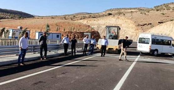 Başkan Olgaç, Zorova Köprüsünde İncelemelerde Bulundu