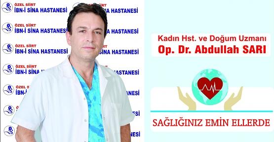 Dr. Abdullah Sarı'dan Sağlıklı Bir Gebelik İçin 5 Öneri