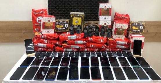 Kurtalan'da 95 Bin Değerinde Kaçak Cep Telefonu Ele Geçirildi