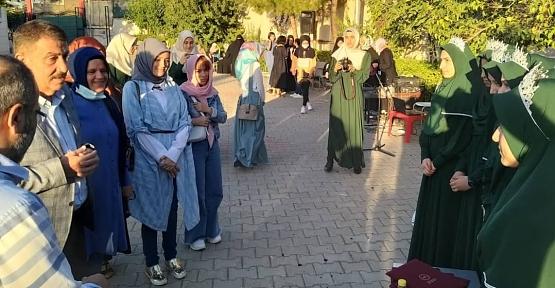 MHP Siirt İl Teşkilatı Hafızlık Taç Giyme Merasimine Katıldı
