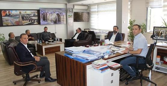 Siirt Heyeti, Siirt'in Sorunlarını Karayolları ve DSİ Bölge Müdürlerine İletti