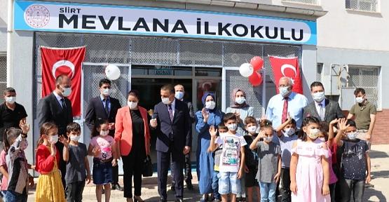 Vali Hacıbektaşoğlu, İlk Ders Zilini Çaldı
