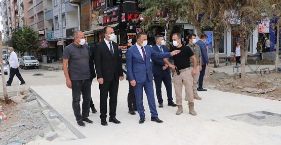 """Vali/Belediye Başkan V. Hacıbektaşoğlu, """"Daha Yaşanılabilir Siirt İçin Çalışıyoruz"""""""