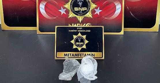 Siirt'te Uyuşturucu Madde Ele Geçirildi