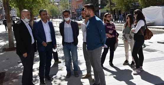 Hz. Fakirullah (Güres) Caddesi Ağaçlandırma Projesi İçin Kurulan Özel Ekip Çalışmalara Başladı