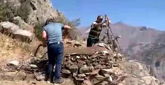 Pervari'de Kaçak Avcıların Kurduğu Tuzaklar Yıkıldı
