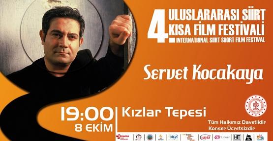 Siirt 4. Uluslararası Kısa Film Festivali Servet Kocakaya Konseri İle Son Bulacak