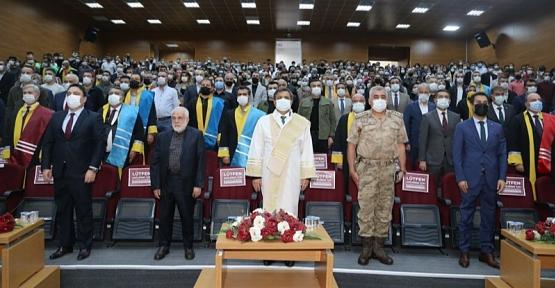 Siirt Üniversitesi'nin 2021-2022 Akademik Yılı Açılışı Törenle Gerçekleştirildi