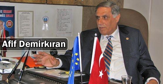 AK Parti Milletvekilimiz Afif Demirkıran'ın Miraç Kandili Mesajı