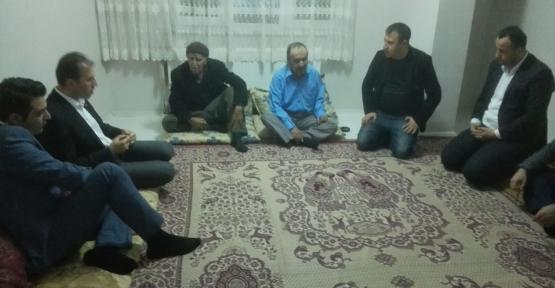 AK Parti Siirt İl Başkanlığı Cizre ve Silopili Ailelere Yardımda Bulundu