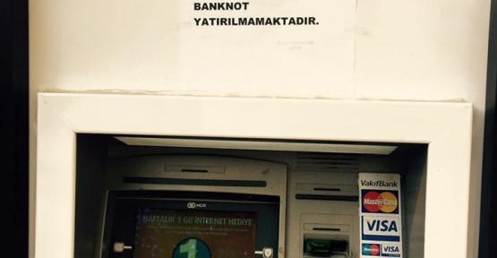 Bankalar ATM'lerini 200'lük Banknot Alımına Kapattı