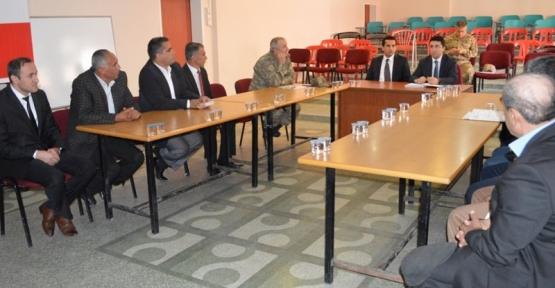 Baykan İlçemizde Seçim Güvenliği Koordinasyon Toplantısı Yapıldı