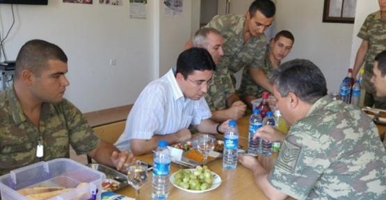 Baykan Kaymakamı Mehmet Kocabey, İlçeye Bağlı Karakolları Ziyaret Etti