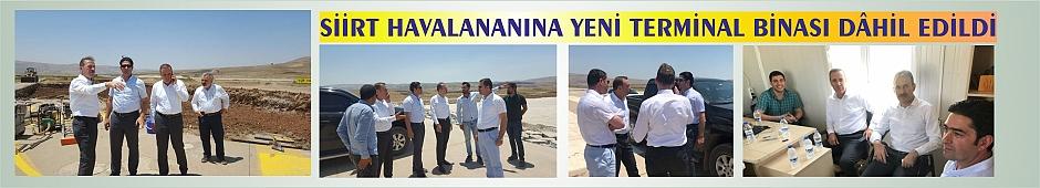 Siirt Havalananına Yeni Terminal Binası Dahil Edildi