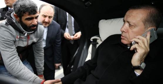 Cumhurbaşkanı Erdoğan, Siirtli Genci  İntihardan Vazgeçirdi