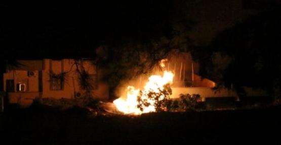 Cumhuriyet Polis Karakolu Tarandı