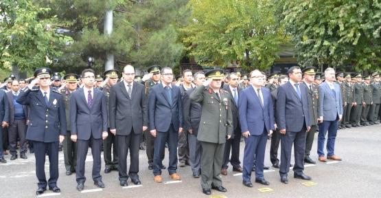Cumhuriyetimizin Kurucusu Büyük Önder Gazi Mustafa Kemal Atatürk'ün Ebediyete İntikalinin 77. Yıldönümünde, Törenlerle Anıldı