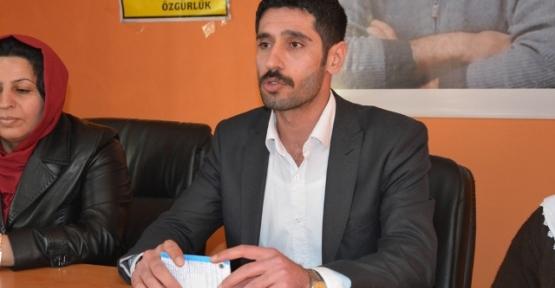 DBP Eş İl Başkanı Reşit Teymur Gözaltına Alındı