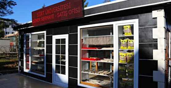 Döner Sermaye Satış Ofisi Hizmete Açıldı