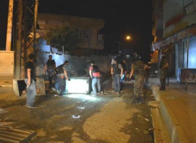 Dört Ayrı Noktada Çıkan Gösterilerde Polise Molotoflu Saldırı Yapıldı
