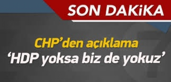 HDP Yoksa Bizde Yokuz !
