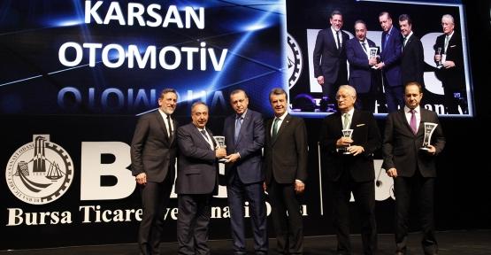 Hemşerimiz Cemal Bilim Ödülünü Cumhurbaşkanı Erdoğan'dan Aldı
