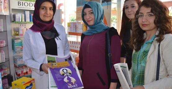 """""""Her Yerde Okuma"""" Projesi Kapsamında Öğrenciler Belediye Bülteni Dağıttı"""