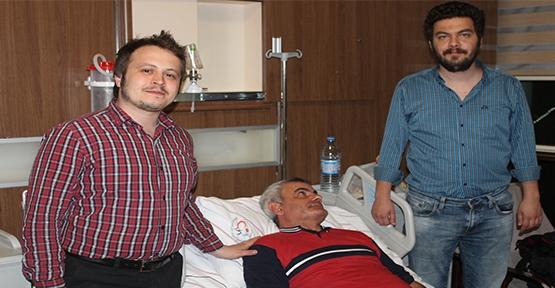 Kalp Krizi Geçiren İtalyan Vatandaşa Siirt'te Anjiyo Yapıldı