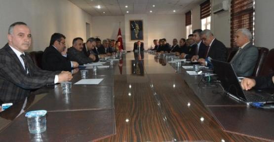 """""""KARAYOLU TRAFİK GÜVENLİĞİ EYLEM PLANI"""" KOORDİNASYON TOPLANTISI YAPILDI"""