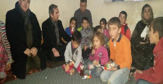 Kaymakam Dayanç, Şırnak, Cizre ve Silopi'den Gelen Aileleri Ziyaret Etti
