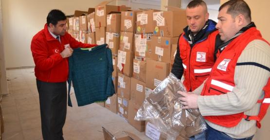 Kızılay, Terör Mağdurlarına Yardım Dağıtımına Başladı