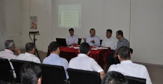 Kurtalan Kaymakamı İmamoğlu, İlçe Milli Eğitim Müdürlüğü Yıl Sonu Değerlendirme Toplantısına Katıldı