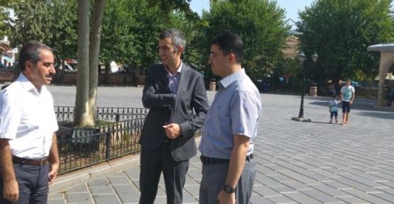 Kurtalan Kaymakamı Oktay Ateş, Baykan Kaymakamı Kocabey'i Ziyaret Etti