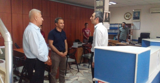 Kurtalan Kaymakamı Oktay Ateş, STK'ları Ziyaret Etti