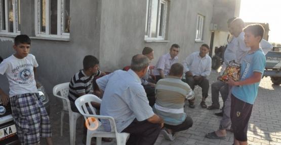 Kurtalan Kaymakamı Oktay Ateş Telan (Oyacık) Köyünü Ziyaret Etti